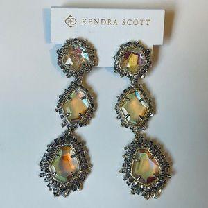 """Kendra Scott """"Aria"""" clip on earrings."""